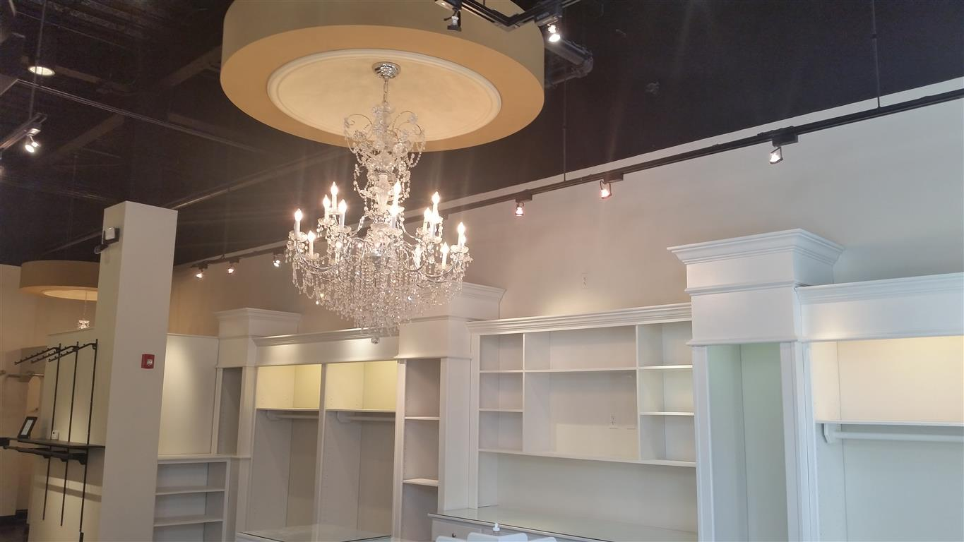 Commercial Interior Chandalier