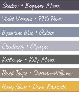 Leawood Painting color samples